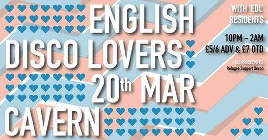 English Disco Lovers 19 - Refugee Support Devon