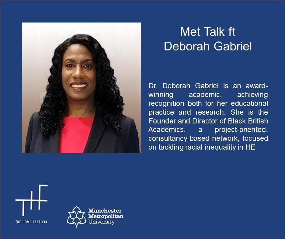Dr Deborah Gabriel - Inspirational Speaker Series
