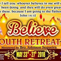 YOUTH RETREAT  (Believe)