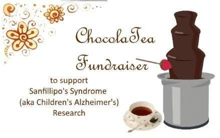 Chocolate Tea Fundraiser for Childrens Alzheimers Research