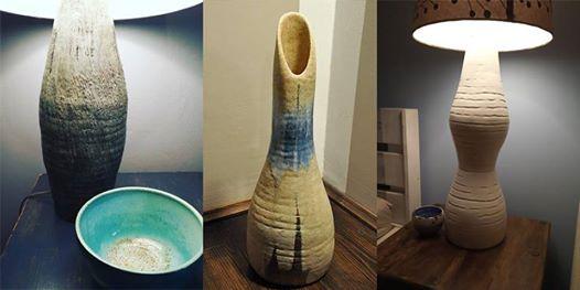 Nowo Warsztaty ceramiczne - wazon lub podstawa lampy