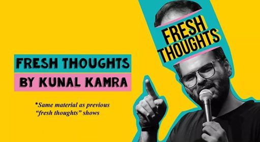 Kunal Kamra Live in Bangalore - Fresh Thoughts