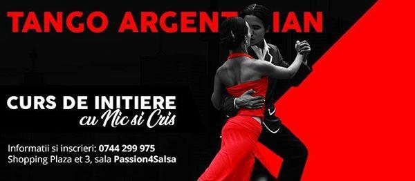 Tango Argentinian curs de initiere