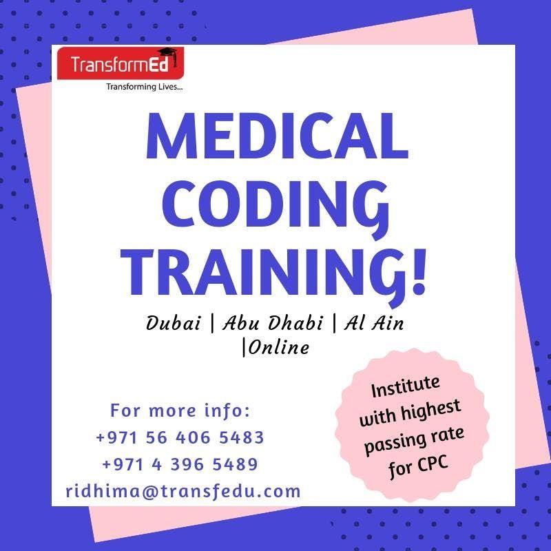 Medical Coding Training | Abu Dhabi at Abu Dhabi, Abu Dhabi