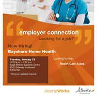 Employer Connection Hiring Event - Bayshore Home Health Care