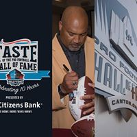 Taste of the Pro Football Hall of Fame Celebrating 10 years