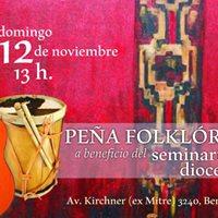 Pea Folklrica Solidaria en beneficio del Seminario