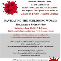 Sisters in Crime Writing and Publishing Seminar