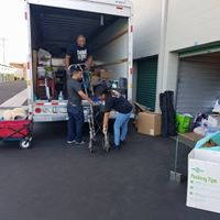 Pre-Event Truck LoadingDonation Drop Off