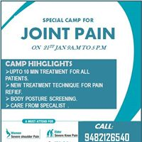 Special Camp for Joint Pain
