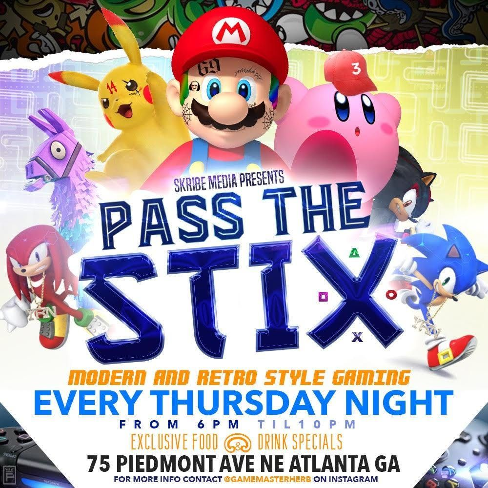 Skribe Media Presents Pass The Stix