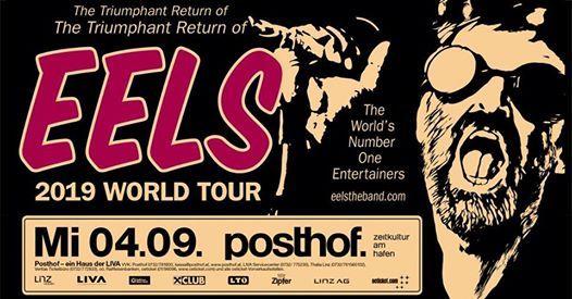 Eels 2019 World Tour - Posthof Linz