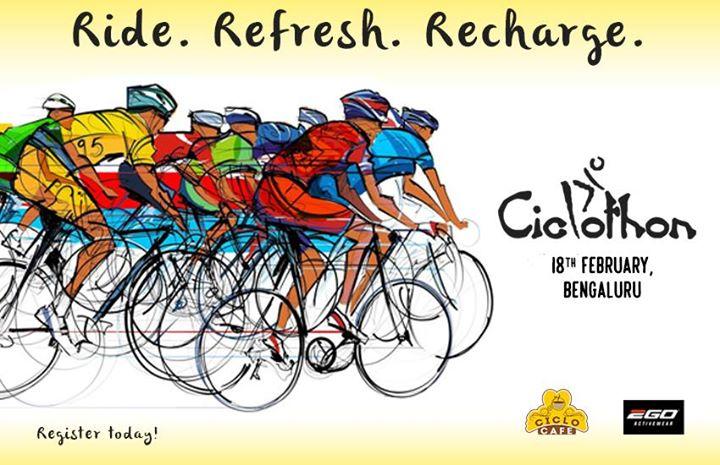 Ciclo Cafe Bangalore presents - Ciclothon Bangalore
