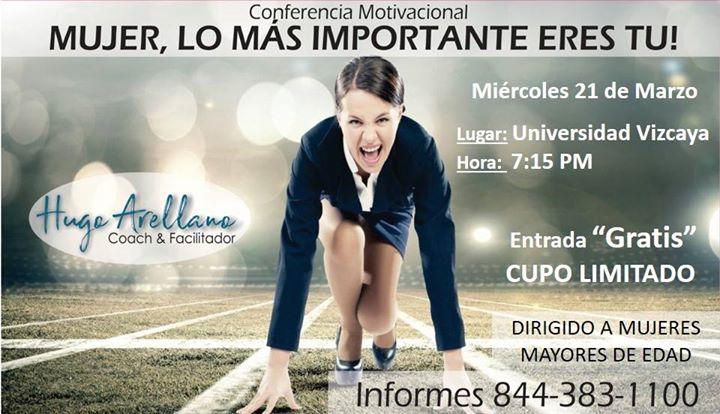 Conferencia Motivacional Para Mujeres At Universidad Vizcaya