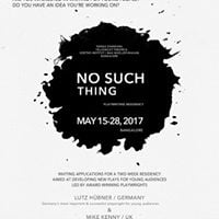 No Such Thing - Playwriting residency