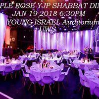 Purple Rose YJP Shabbat Dinner