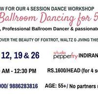 Social Ballroom Dancing for 55