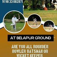Register For Navi Mumbai Cricket Talent Hunt 2018