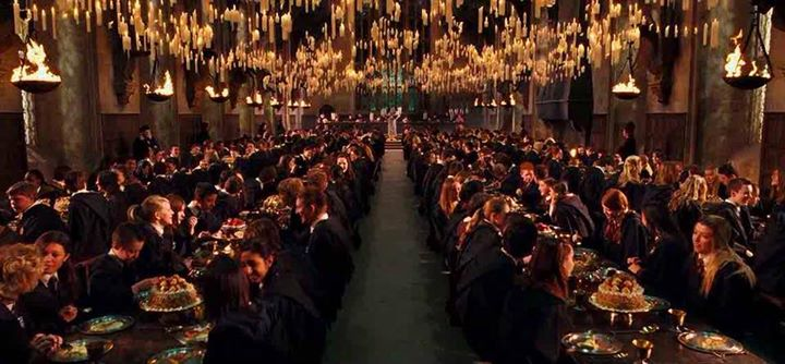 Sold out harry potter dinner experience ages 21 at for Salle a manger harry potter