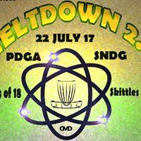 Meltdown 2.0 ProAm Disc Golf Tournament