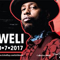 VOLAR X Collective MINDS Presents TALIB KWELI  7th Oct Sat