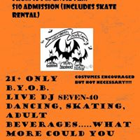 Halloween Adult Skate Party