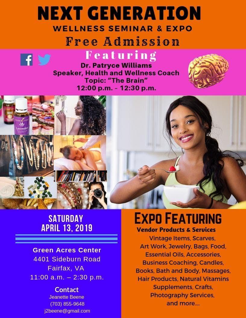 Next Generation Wellness Seminar and Expo