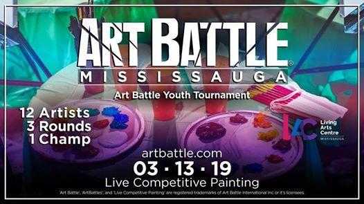 Art Battle Youth Tournament - March 13 2019