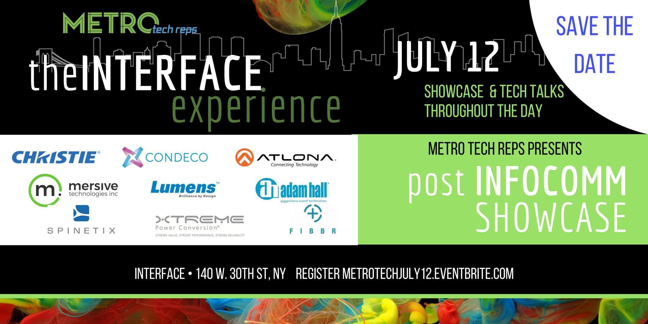 theINTERFACE experience - Post InfoComm 2018 Showcase
