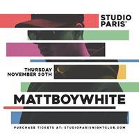 MattBoyWhite - 11.30.17
