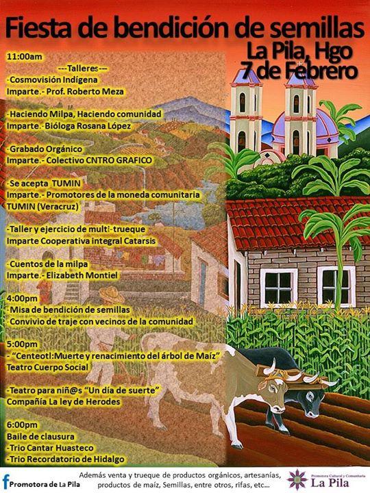 Fiesta De Bendicin De Semillas