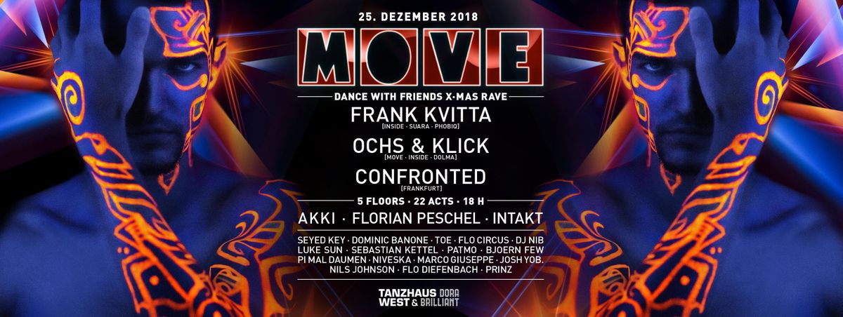 MOVE - Dance with Friends X-Mas Rave