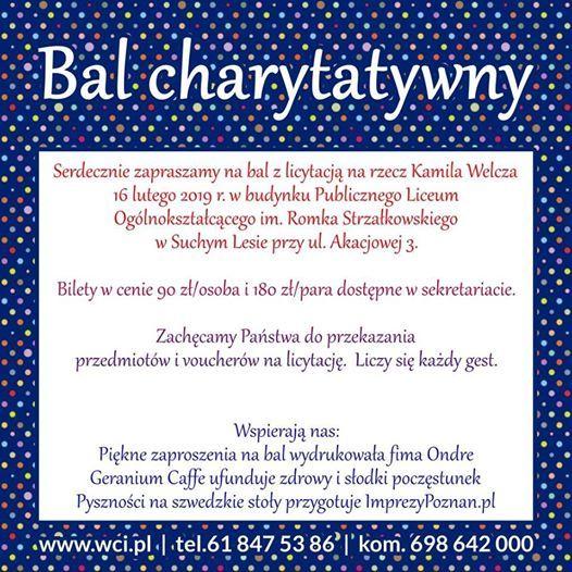 Bal Charytatywny At Harmonia Szkoła Montessoriul Strzałkowskiego