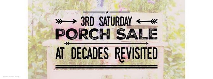 MARCH 17th Porch Sale
