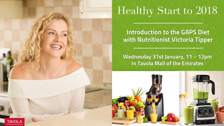 Introduction To The Gaps Diet With Nutritionist Victoria Tipper At