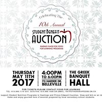 10th Annual Student Benefit Auction