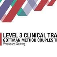 Level 3 Clinical Training Gottman Method Couples Therapy