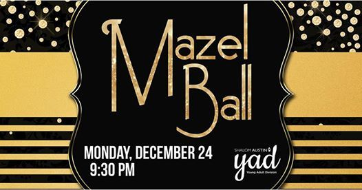 YADs Annual Mazel Ball 2018