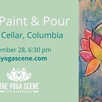 Yoga Paint &amp Pour at Studio Cellar