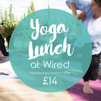 Yoga Lunch Wired