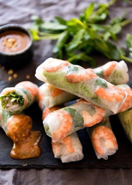 Healthy Fresh Rolls & Chicken Lettuce Wraps - The Sequel 645 pm