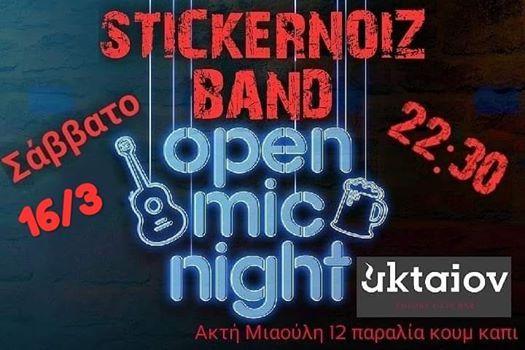 Stickernoiz Band Vs Open Mic Night Aktaion Live