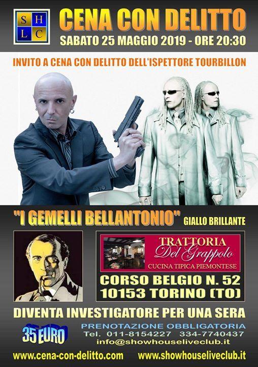 Cena Con Delitto Torino At Trattoria Del Grappolo Turin