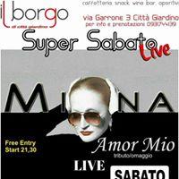 Mina AmorMio grande live al Borgo