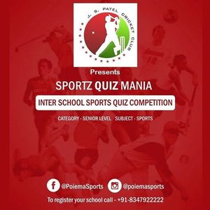 Inter School Sportz Quiz Mania