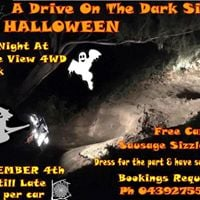 A Drive on the Dark Side Halloween - 4WD Night at Eagleview