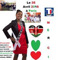 Ambassadeur Gladys Face Of Kenya France