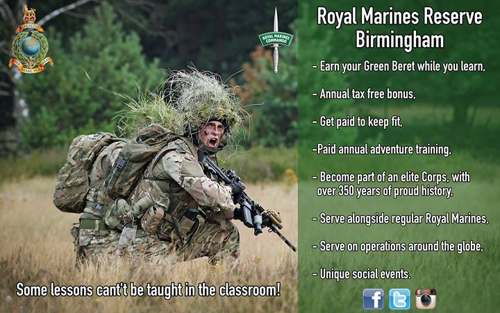 Royal marines reserve requirements
