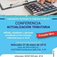 En Santander de Quilichao Conferencia Actualizacin tributaria