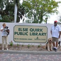 Doggie Tales at Elsie Quirk Library